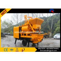 China Mobile Concrete Mixer With Pump , Concrete Truck Mixer S Pipe Valve wholesale