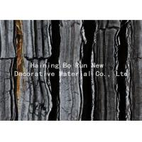China Dark Colored Indoor PVC Ceiling Film Marble Effect Heat Insulation wholesale