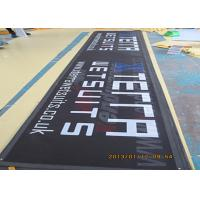 China Advertising Custom Outdoor Mesh Banners With Metal Eyelets CMYK Color wholesale