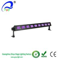 China Black Light Bar with 9x3W UV LED Bar in Metal Housing for party wholesale
