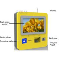 China Self Recharge Wall Mounted Kiosk , DIP Card Reader 3G Wireless Telecom Terminal wholesale