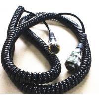 China Durable TPU Power Signal Adapter Coiled Power Cord Lead Vehicle Plane Electronics Usage wholesale