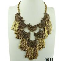 China 2012 Newest big gold chain fashion necklace with special design wholesale