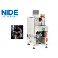 China NIDE stator coil lacing machine with CNC control design and HIM program wholesale