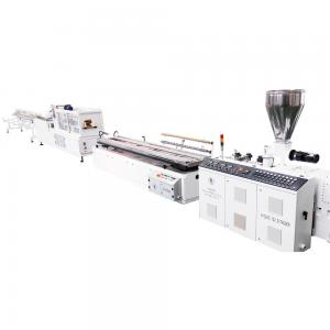 2m/min Pvc Profile Production Line ISO9001 Plastic Products Making Machine