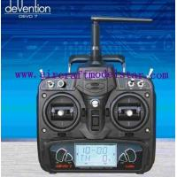 China DEVO 7ch,7 channels remote control rc plane model,HuaKeer 7 channels remote ,2.4G 7ch wholesale