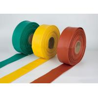 China Large Diameter Heat Shrink Tubing Fuel Resistant , Heat Shrink Wire Wrap Cable Sleeve Tubing wholesale