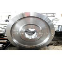 Quality 4140 42CrMo4 SCM440 Alloy Steel Rail Forged Wheel Blanks Quenching And Tempering for sale