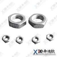 China Monel K500 high quality fastener stainless steel hex thin nut wholesale