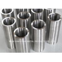 China Black Painted Welded Stainless Steel Pipe OD 20 - 500mm Customized 300 Series on sale