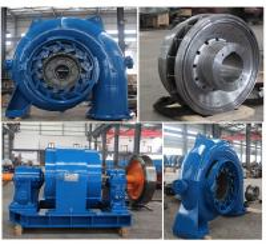 China 1000kW  Francis Hydro Turbine Pelton Hydro Turbine 1000r / min 1.41m³/s wholesale