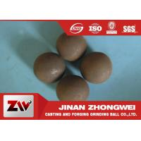 China Diameter 20mm forged and cast grinding steel balls for ball mill wholesale