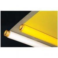 China Yellow and White Polyester screen printing mesh for PVC Printing/Glass Printing, on sale