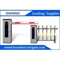 China Outdoor Waterproof Road Boom Barrier Gate Automatic With LED Light wholesale