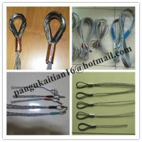 China galvanization Cable grip,Cable socks,China cable pulling socks wholesale