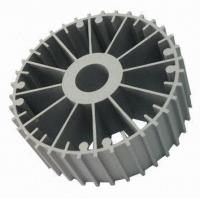 China CNC Machining Aluminum Heatsink Extrusion Profiles 6063-T5 For Machines wholesale