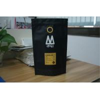 China Laminated Matte Black Tea Bags Packaging Aluminum Foil Coffee Bags on sale