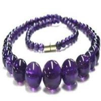 China Fashion Jewelry Amethyst Beads Necklaces wholesale