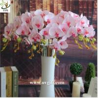 China UVG China supplier make artificial flower arrangements in silk orchid flowers for sale on sale