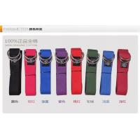 China 100% Cotton Custom Logo 8 Feet Yoga Strap For Tension Exercise wholesale