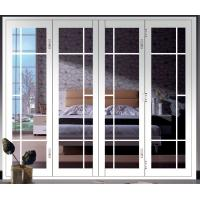 China Commercial Indoor Folding Glass Patio Doors Thermal Break Aluminum wholesale