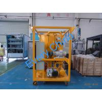 China Dewater and Degas Transformer Oil Filtration Machine, Transformer Oil Purifier on sale