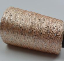 China Hot 250g natural worsted silk cotton sequins yarn fiber knitting yarn skein cashmere crochet yarn for knitting thread,Z3 on sale