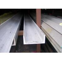 China 304 U Stainless Steel Channel Cold / Hot Rolled With Strong Corrosion Resistance on sale