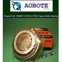 China Gcr15 RS Timken Tapered Roller Bearings Open , Radial Load Bearing for Wheel wholesale
