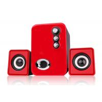 China RECCAZR USB 2.1 Channel Speakers , Computer Stereo Speakers Multimedia wholesale
