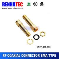 China Waterproof SMA Jack To Reverse SMA Plug Connector wholesale