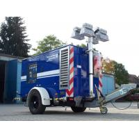 China Vehicle-mounted Mobile Light Mast and high lighting tower and light pole wholesale