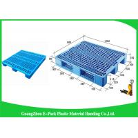 China Single Face Small Plastic Pallets With Steel Tubes Inside , Light Duty  Mini Plastic Pallets wholesale