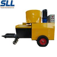 China High Pressure Cement Mortar Spraying Machine Screw Type Customized Color wholesale