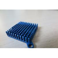 China Blue Anodized Cold Forge CNC Machining Aluminium Heat Sink Profiles for Cooling System wholesale