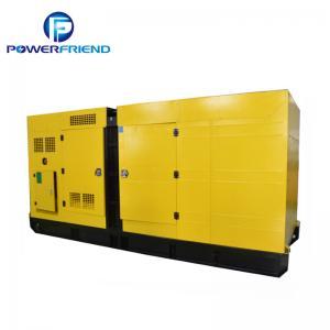 China Prime power 400kw 500KVA Cummins Silent type Diesel Generator Set wholesale