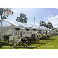 China Outdoor New Party Tent Transparent PVC Roof Cover Marquee For Conference wholesale
