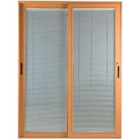 China Wood Interior Bathroom Window Louvers Waterproof With Plastic Shutters wholesale