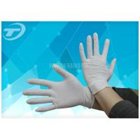 China Comfortable Feeling Medical Disposable Gloves With Anatomic Shape 6 - 9 Size wholesale