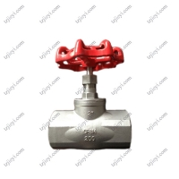 Buy cheap Investment Casting Stainless Steel CF8/CF8M 304/316 Female Thread/Screw Ends BSPT NPT DIN2999 Globe Valve from wholesalers