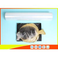 China Fresh Stretch Pvc Cling Film Food Wrapping , Transparent Soft Catering Plastic Wrap wholesale