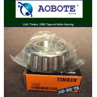 China ABEC 5 OEM Timken Taper Roller Bearings For Automotive , Single Row Roller Bearings wholesale