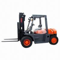 China Diesel Forklift with 7,000kg Rated Load Capacity wholesale