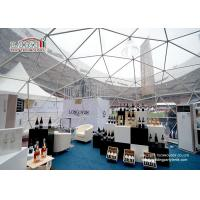 China White Large Geodesic Dome Tents Aluminium Frame for Outdoor Event wholesale