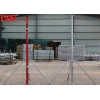 China Temporary Steel Shoring Posts Floor Support With Galvanized Zinc - Plated Coating wholesale