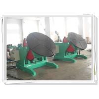China 1200kg Rotary Welding Turning Table Pipe Elbow Welding Foot Pedal Control on sale