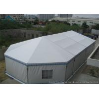 10m * 20m Hot Sale Aluminium Frame Large Wedding Marquee Mixed Tents With Luxury White Color And Linings Curtain