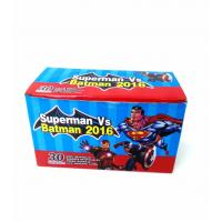 China Heroes Series-Superman VS Batman Chewy Candy Looks Clolorful Tastes Sweet wholesale