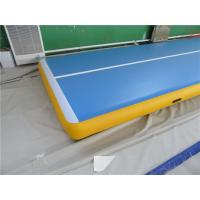 China Sturdy Inflatable Gymnastics Mat In Pool Air Floor Mat ROHS / SGS Approved wholesale