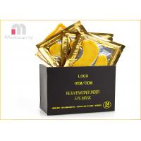 China Anti - Aging And Wrinkle 24K Gold Collagen Eye Masks Relieves Tired Eyes on sale